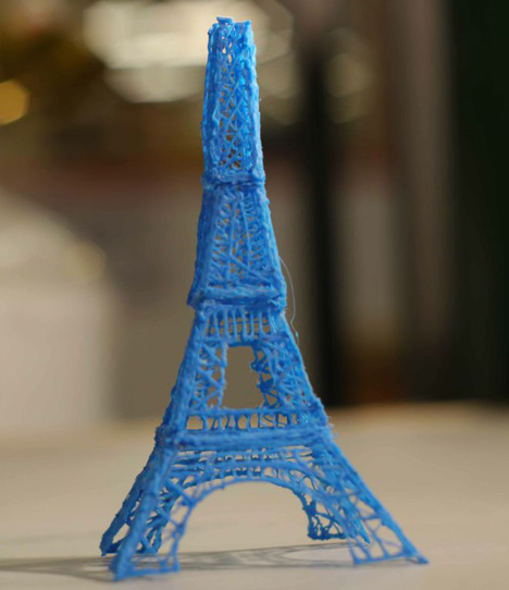 3D Doodled Eiffel tower