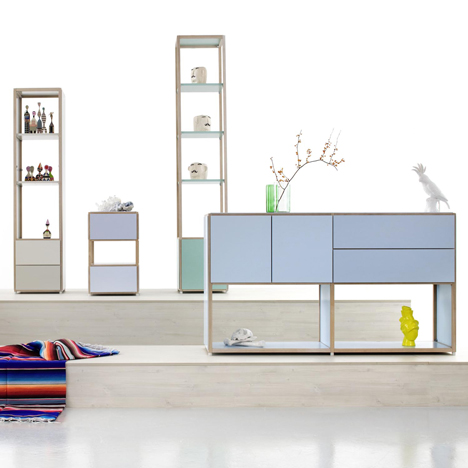 ADD System Furniture by Werner Aisslinger for Flötotto