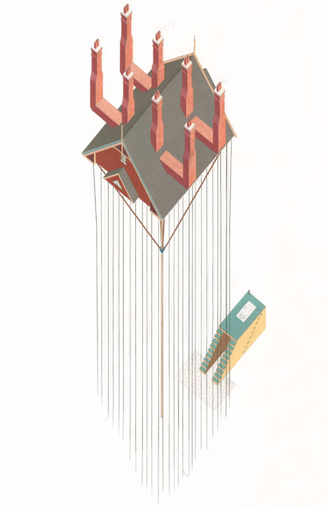 Architectural Absurdities by Tom Ngo