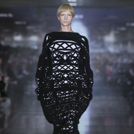 Autumn Winter 2013 collection by Mary Katrantzou