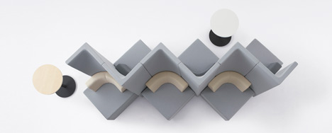 Brackets by Nendo for Kokuyo