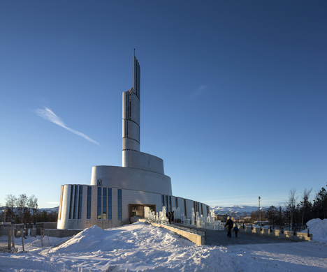 Cathedral of the Northern Lights by Schmidt Hammer Lassen Architects