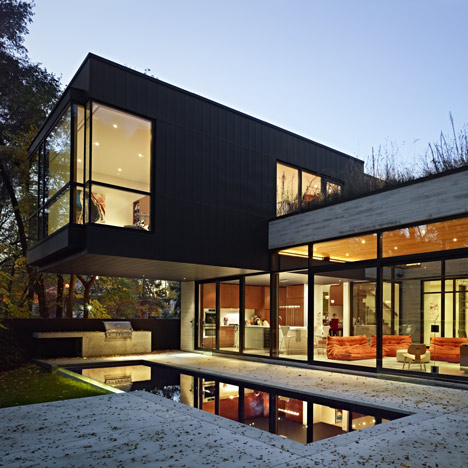 Cedarvale Ravine House by Drew Mandel Architects