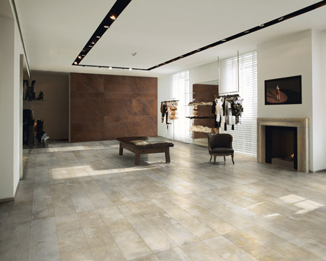 Ceramiche Refin ceramic tiles at Surface Design Show 2013