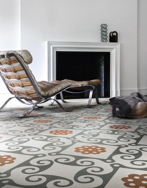 Ceramiche Refin ceramic tiles at Surface Design Show 2013