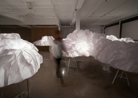 Cloud Installation by Mason Studio