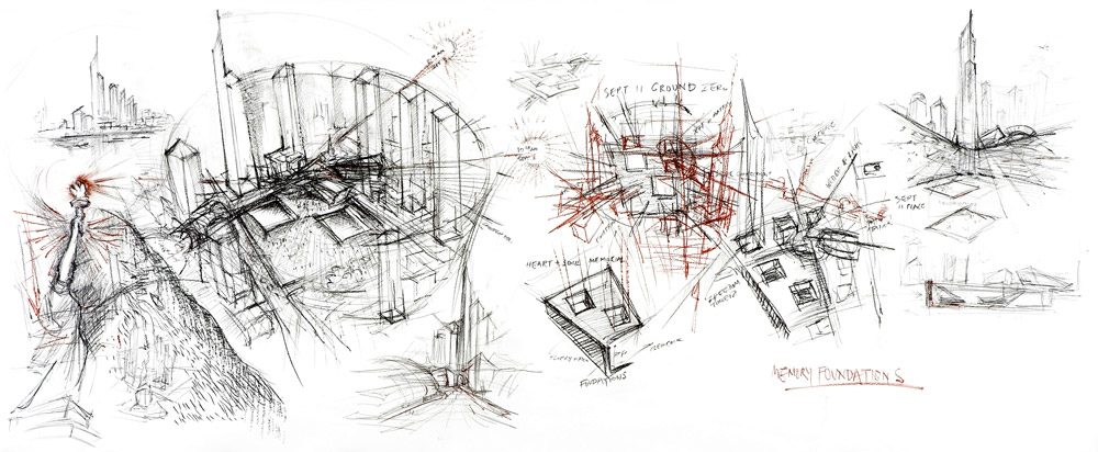 architecture buildings drawings. Daniel Libeskind Sketches Architecture Buildings Drawings U