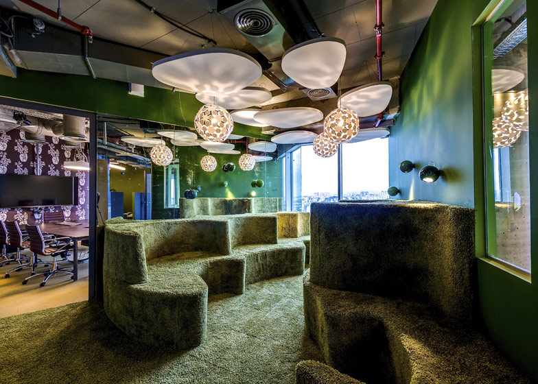 Google office tel aviv8 Headquarters Dezeen Google Tel Aviv By Camenzind Evolution