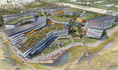 Google plans huge Bay View campus