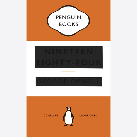 Great Orwell book covers by David Pearson