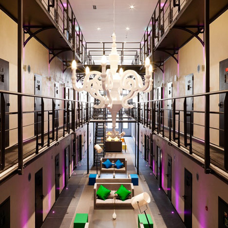 Het Arresthuis φυλακή τώρα ένα ξενοδοχείο