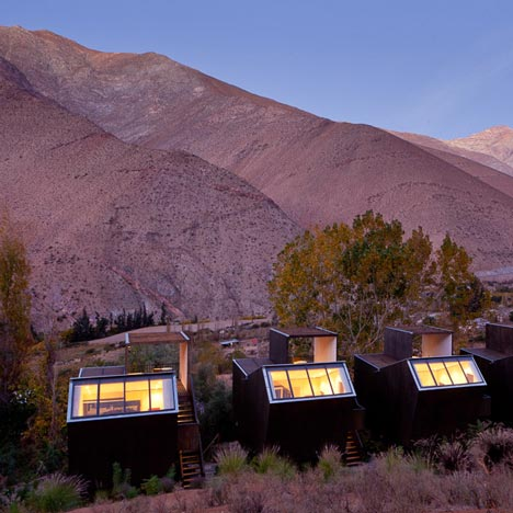 Hotel Elqui Domos filmed by James Florio