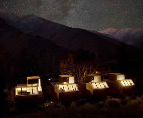 Hotel Elqui Domos filmed by James Florio