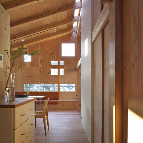 Hut In Woods by Yoshiaki Nagasaka
