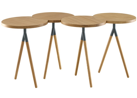 Itisy table by Philippine Lemaire for Ligne Roset