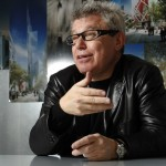 "Libeskind rails at architects who build ""gleaming towers for despots"""
