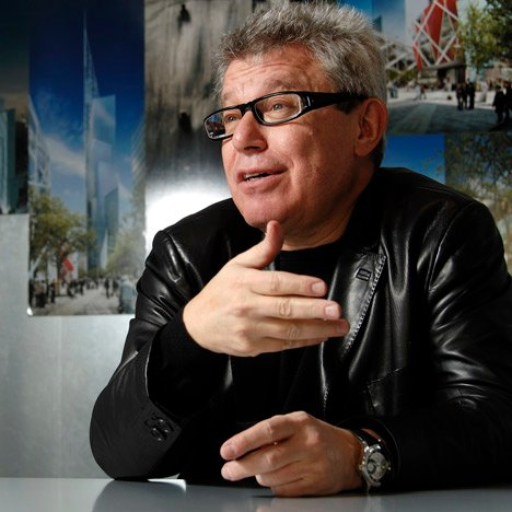 Libeskind rails at architects who build gleaming towers for despots