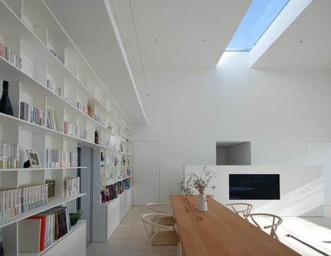 Library House by Shinichi Ogawa and Associates