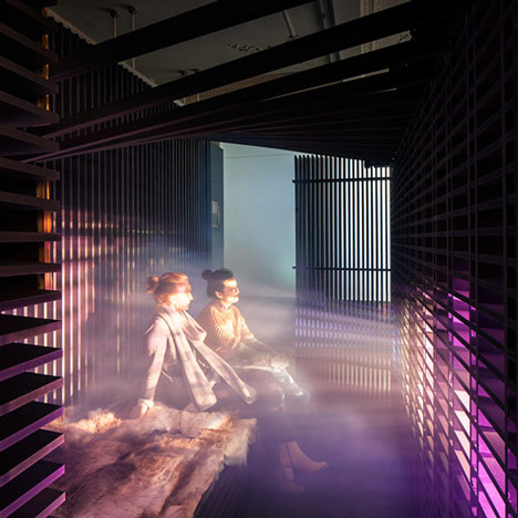 Light Touch installation by Haptic