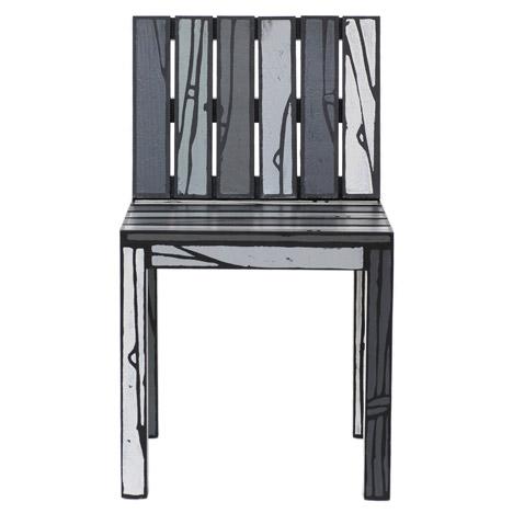 Logo Chairs by Richard Woods and Sebastian Wrong