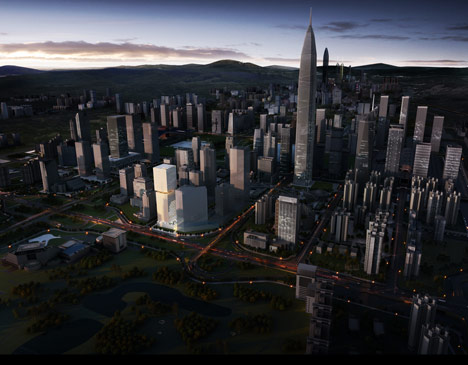 OMA wins competition for second Shenzhen skyscraper