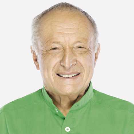 Richard Rogers, photo by Andrew Zuckermann