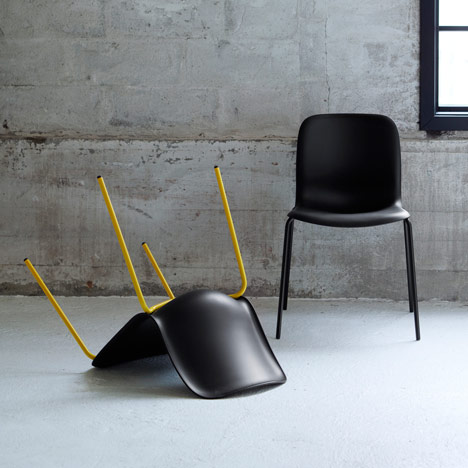 SixE stacking chairs by PearsonLloyd for HOWE