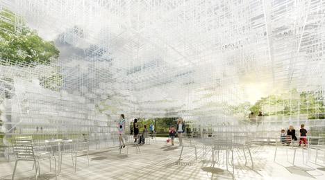 Sou Fujimoto to design Serpentine Gallery Pavilion 2013