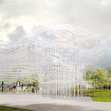 Sou Fujimoto designs Serpentine Gallery Pavilion 2013
