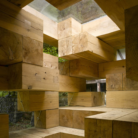 Key projects by Sou Fujimoto<br /> photographed by Edmund Sumner