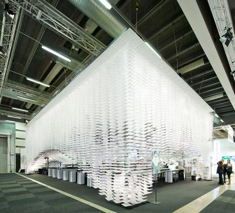 Stockholm Furniture Fair installation by Gert Wingardh and Kustaa Saksi