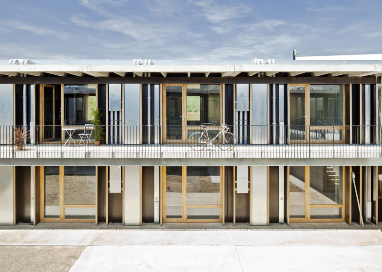 Student housing in st cugat by h arquitectes and dataae