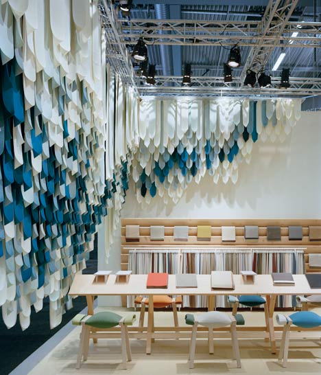 Exhibition Stand Fabric : The picnic by raw edges for kvadrat