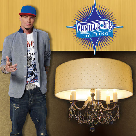 Vanilla Ice designs lighting collection