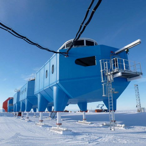 Halley VI Antarctic Research Station by Hugh Broughton Architects
