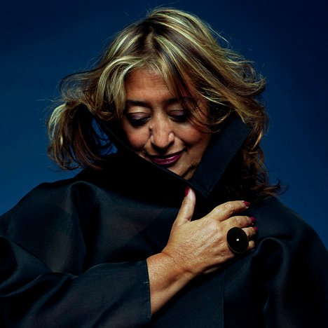 Zaha Hadid photo by Steve Double