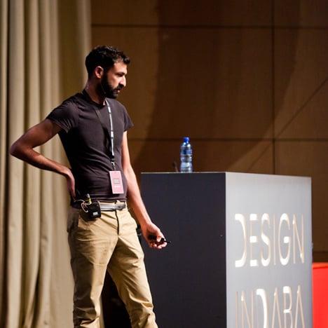 Asif Khan at Design Indaba 2013
