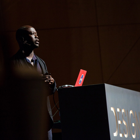 David Adjaye at Design Indaba 2013