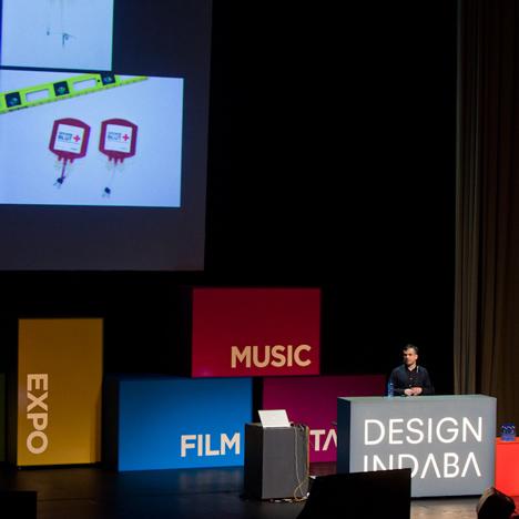 Design Indaba stage