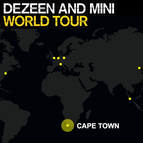 Dezeen and MINI World Tour in Cape Town