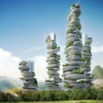 Asian Cairns by Vincent Callebaut