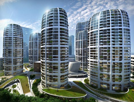 Bratislava Culenova New City Centre by Zaha Hadid Architects