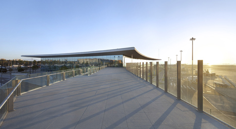 Gibraltor Airport by Bblur Architecture and 3DReid