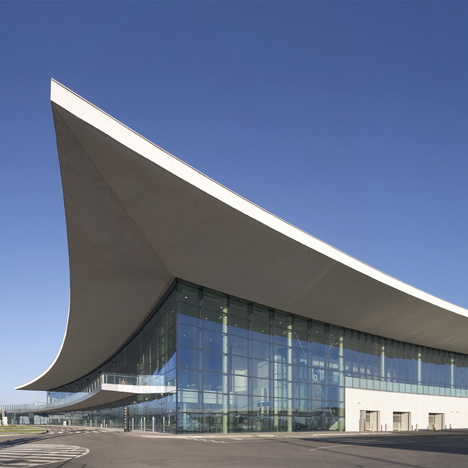 Gibraltar Airport by Bblur Architecture and 3DReid