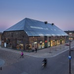 Glass Farm by MVRDV - night shots