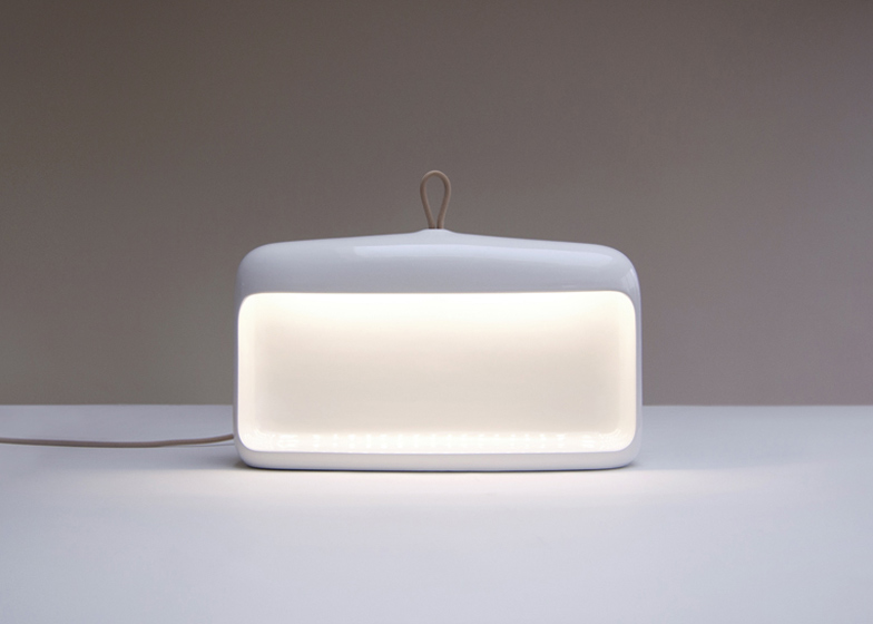 Naica Ceramic Lamp By Something For Ligne Roset