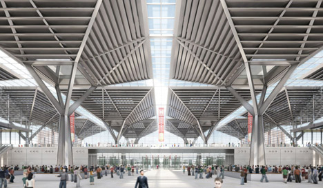 National Convention and Exhibition Centre, Tianjin by GMP Architekten