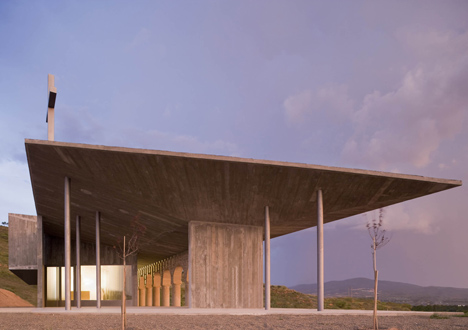Shrine of the Virgin of La Antigua by Otxotorena Arquitectos
