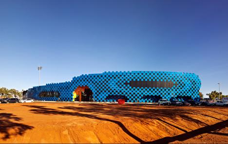 Wanangkura Stadium by ARM Architecture