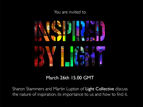 Inspired by Light online seminar call for participants